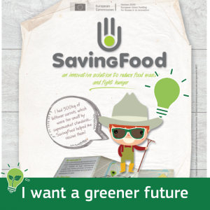 saving food poster